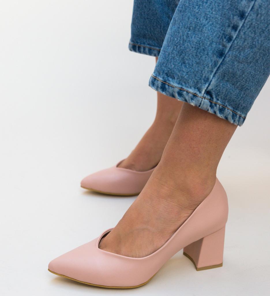 Pantofi Sanso Roz
