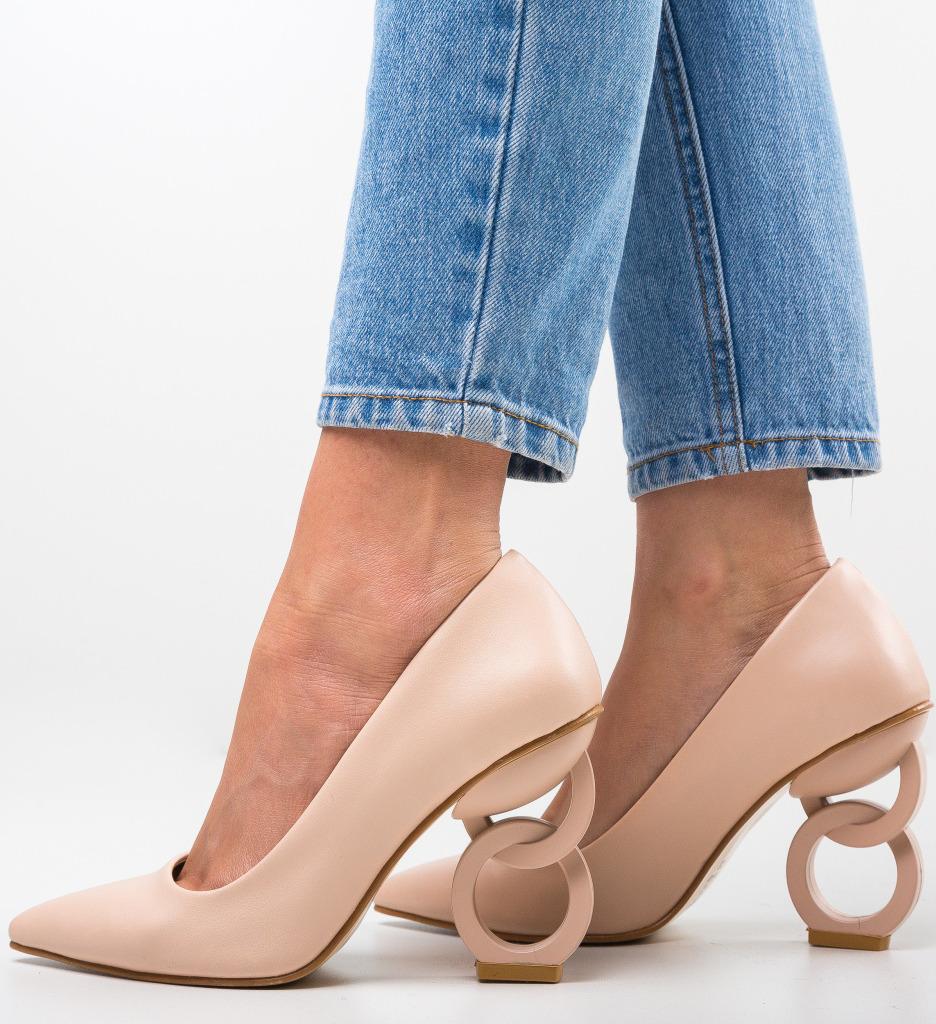 Pantofi Simoni Bej 2