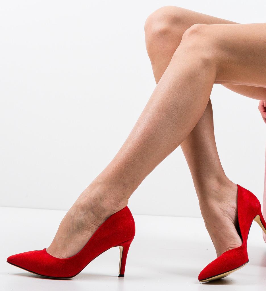 Pantofi Specgaro Rosii