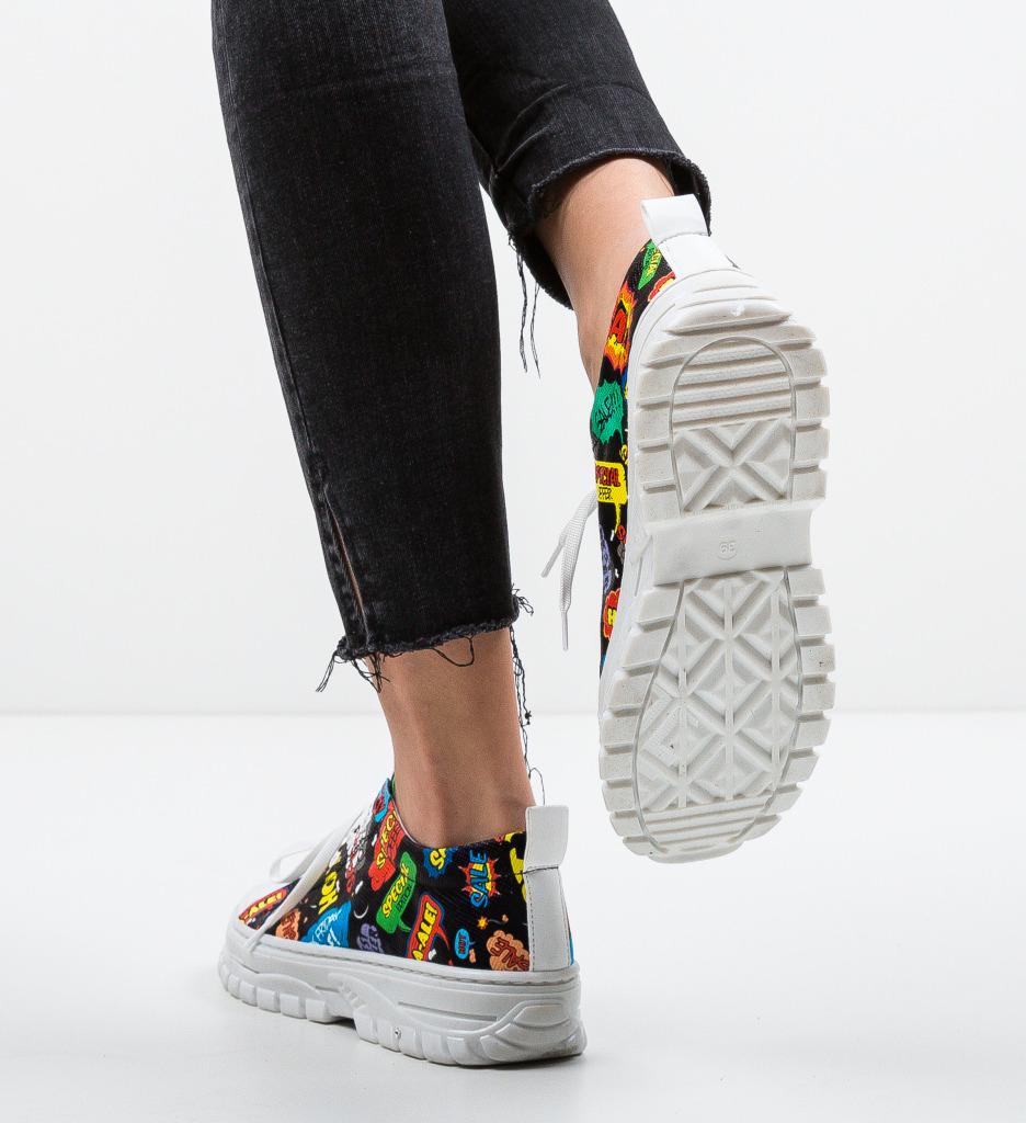 Pantofi Sport Anima Negri