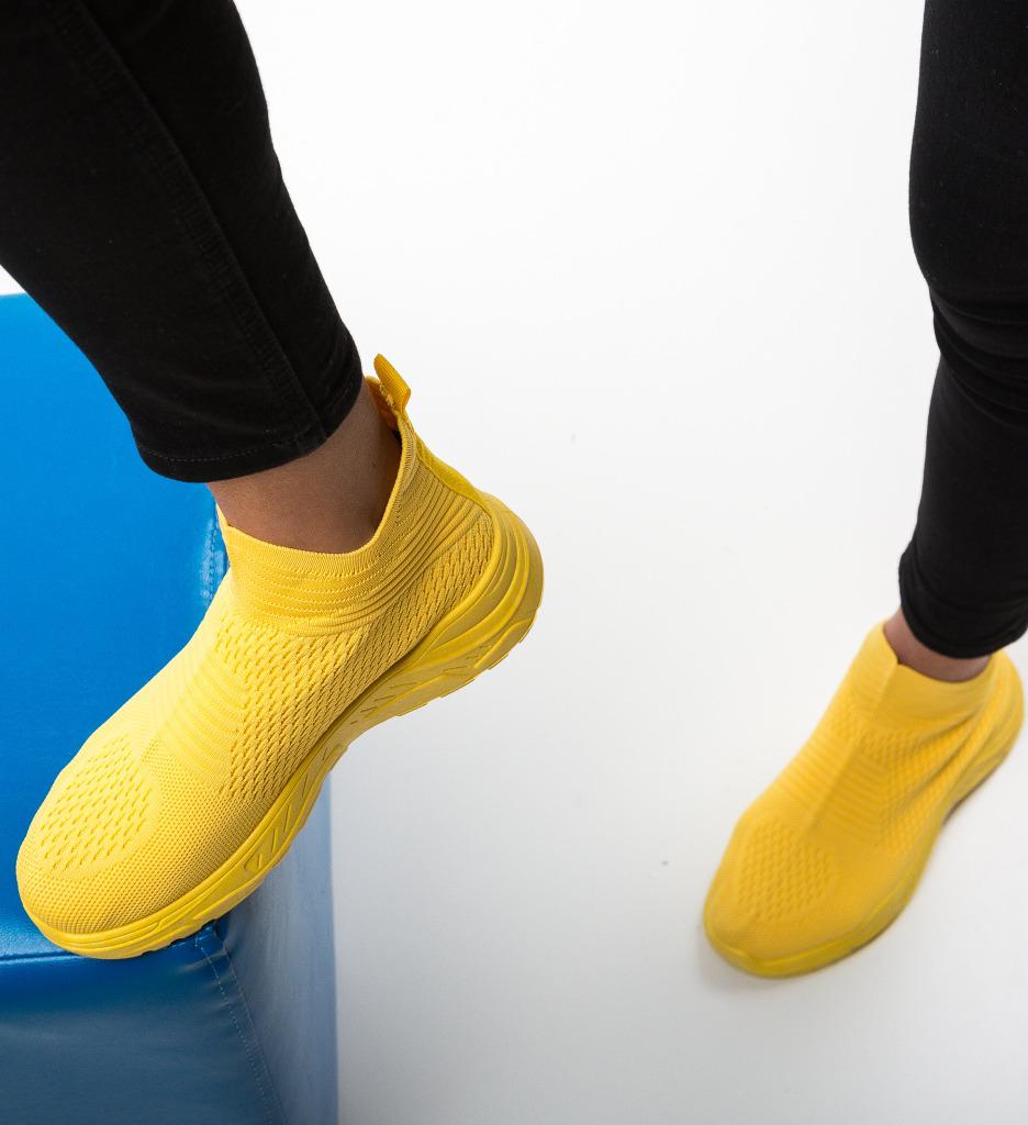 Pantofi Sport Chase Galbeni