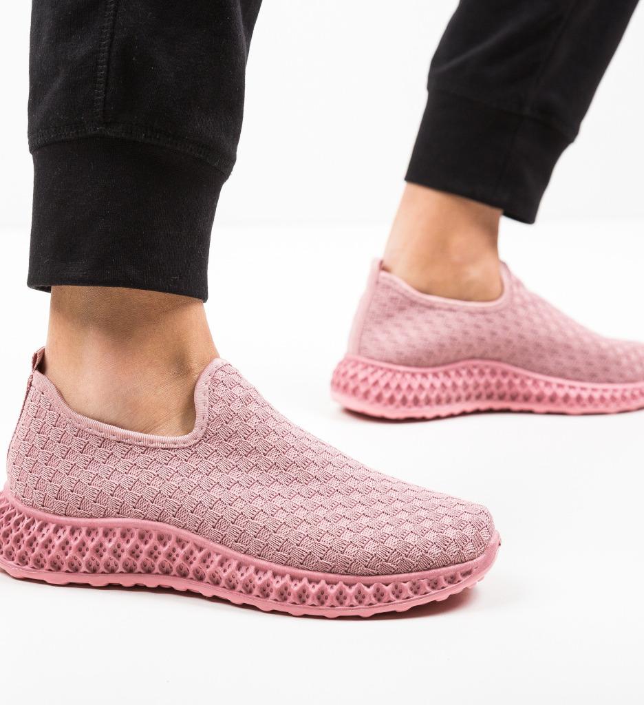 Pantofi Sport Clemeno Roz