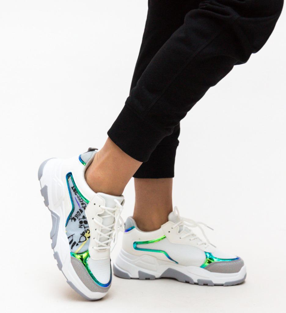 Pantofi Sport Ementin Gri