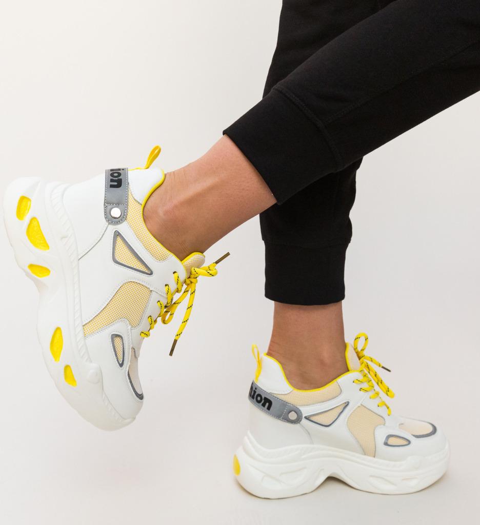 Pantofi Sport Faster Galbeni