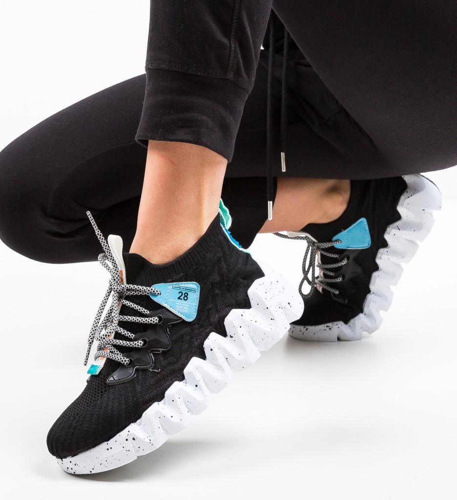 Pantofi Sport Greleko Negri