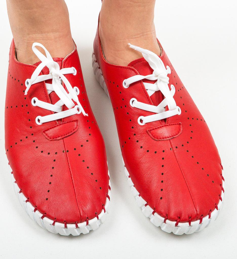 Pantofi Sport Gretata Rosii