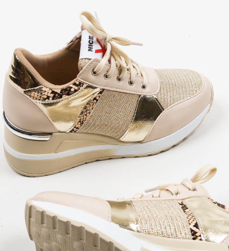 Pantofi Sport Hibara Bej