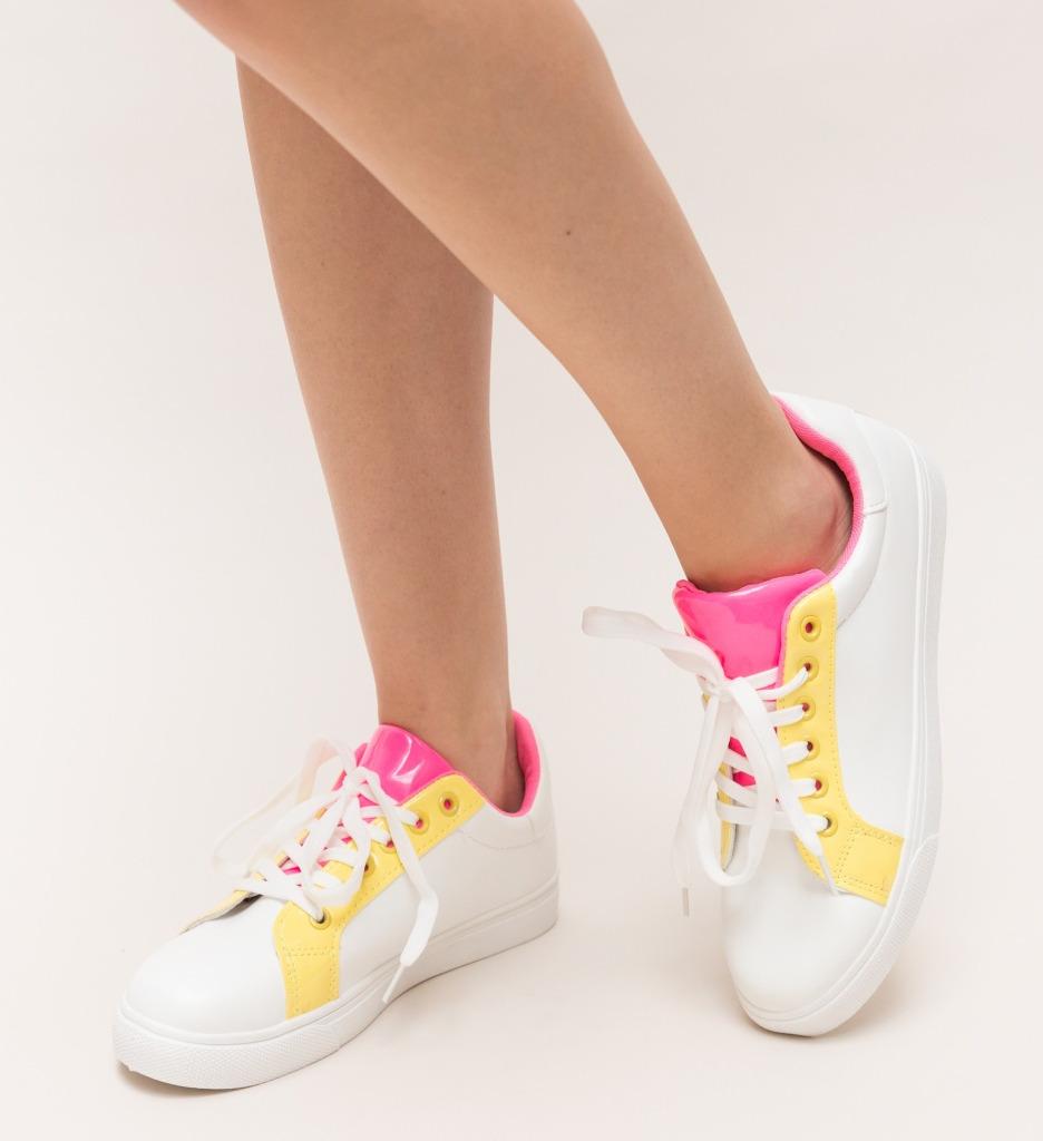 Pantofi Sport Jery Galbeni