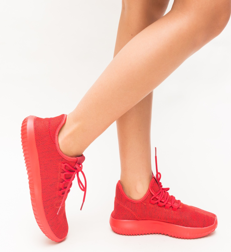 Pantofi Sport Rice Rosii imagine