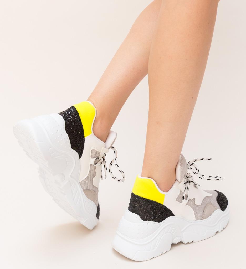 Pantofi Sport Riky Galbeni