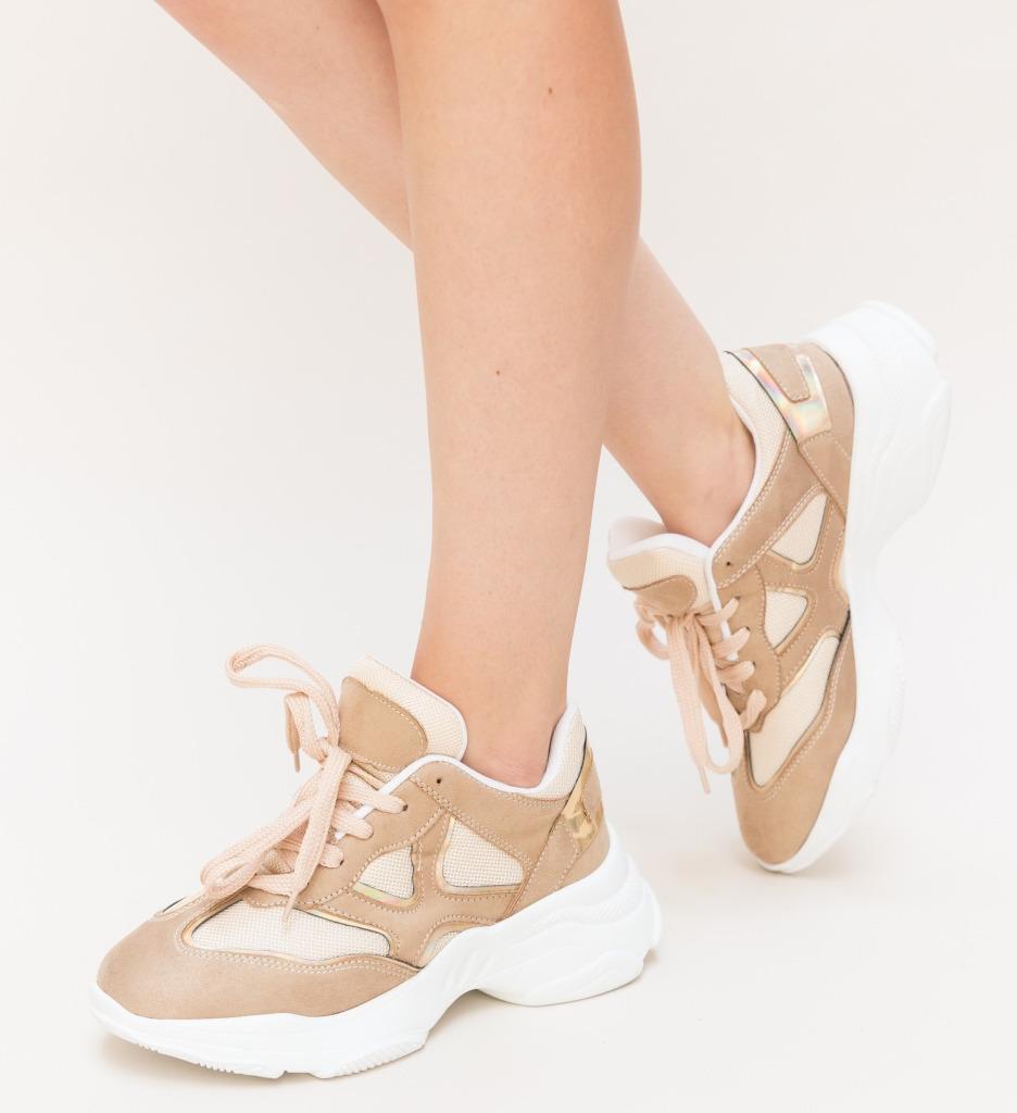 Pantofi Sport Stem Bej