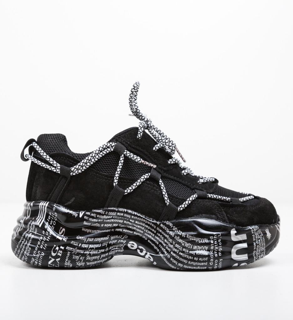 Pantofi Sport Truth Negri