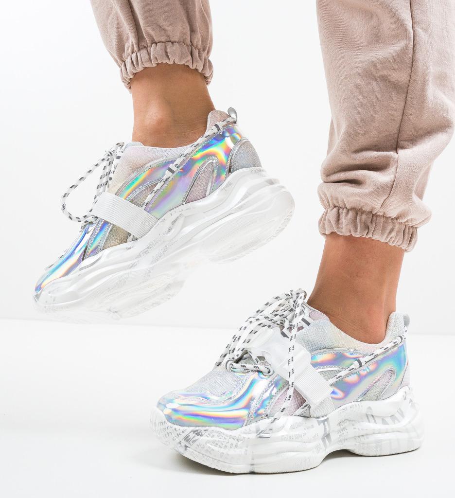 Pantofi Sport Viond Argintii