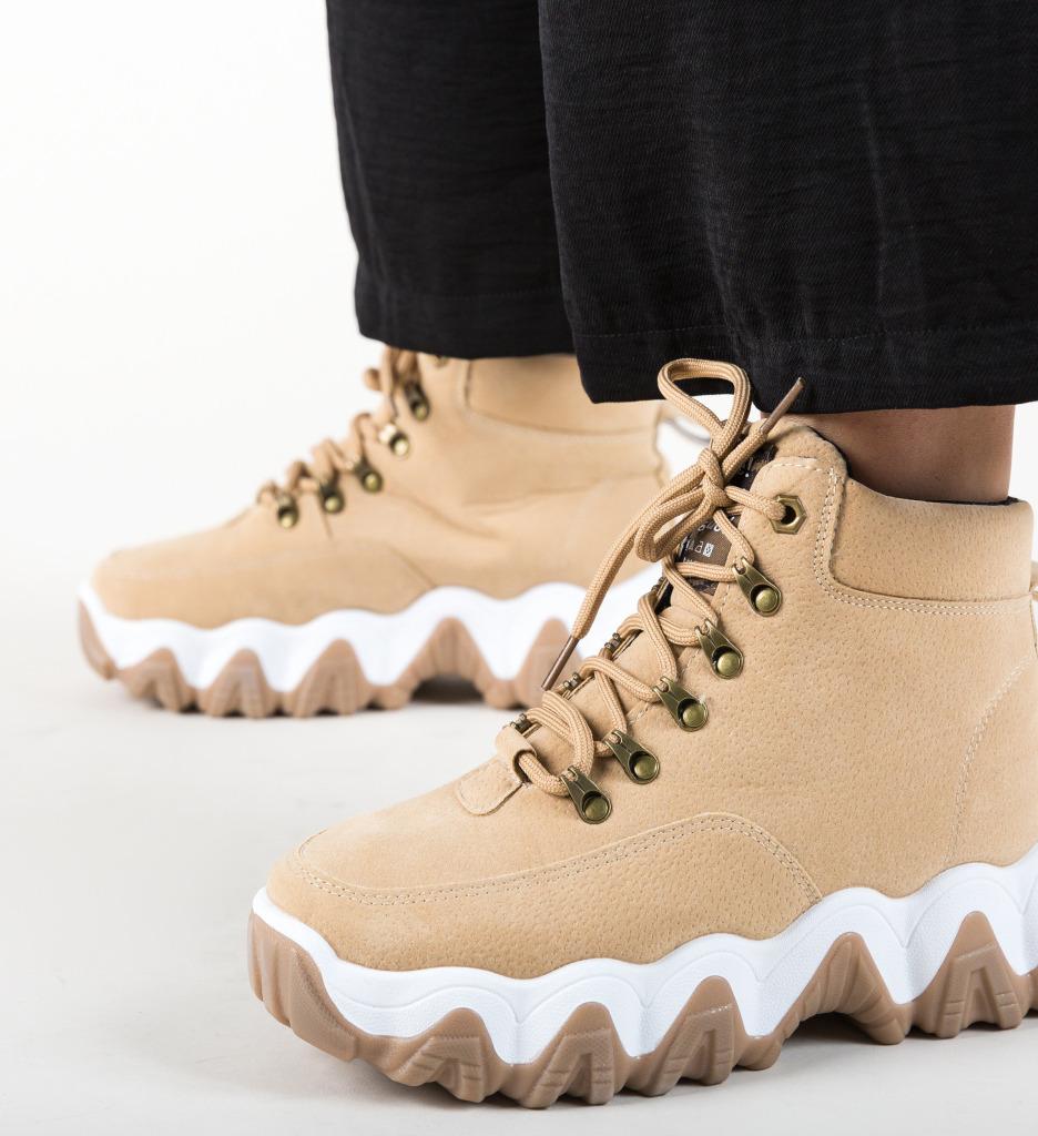 Pantofi Sport Vogue Bej