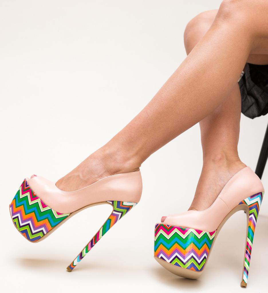 Pantofi Valeria Roz