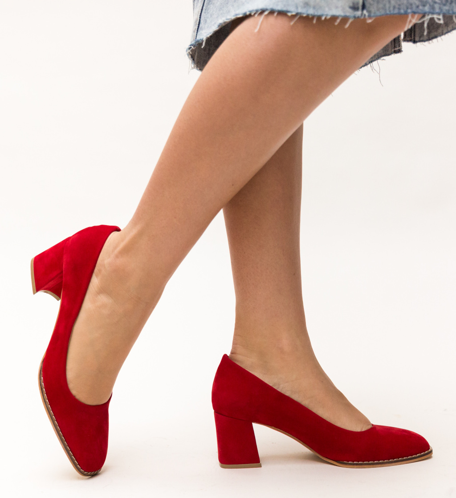 Pantofi Vardovan Rosii imagine
