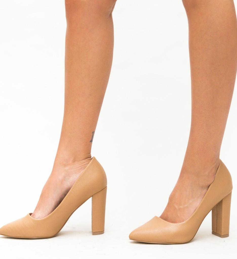 Pantofi Yorker Bej