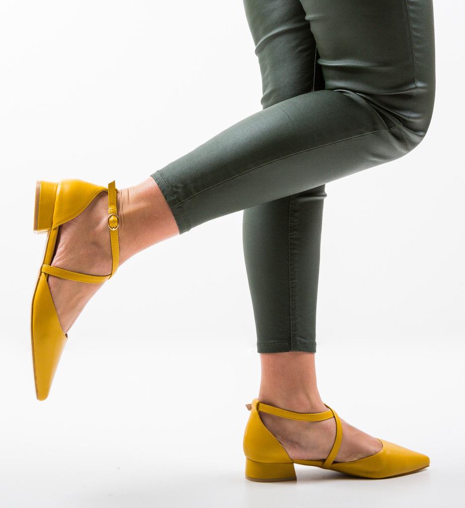 Pantofi Yousif Galbeni