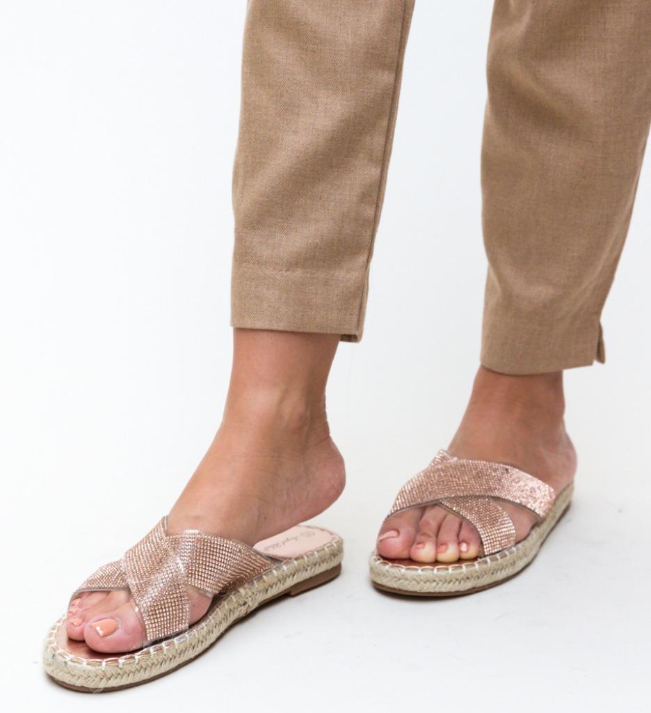 Papuci Baxter Aurii