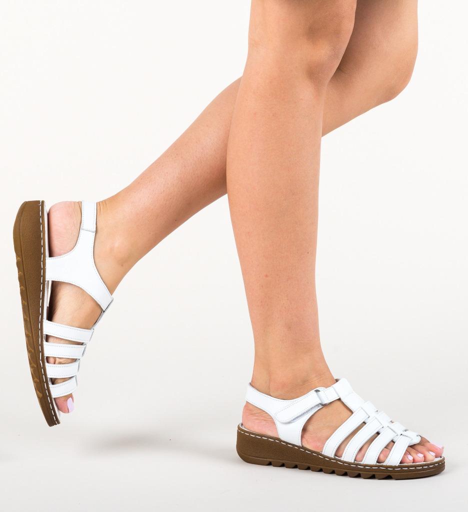 Sandale Bemby Albe