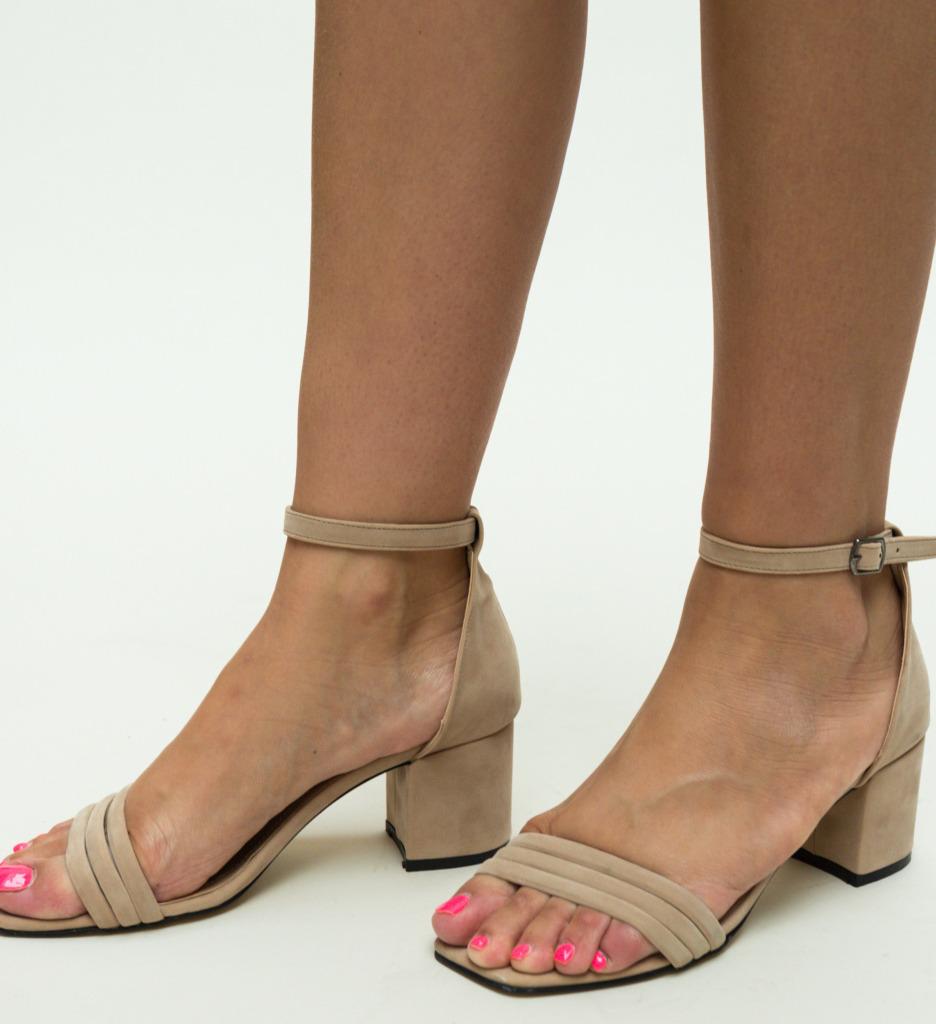 Sandale Bixi Bej