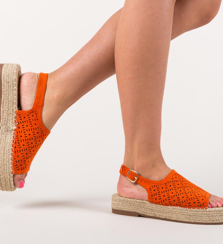 Sandale Bulge Portocali