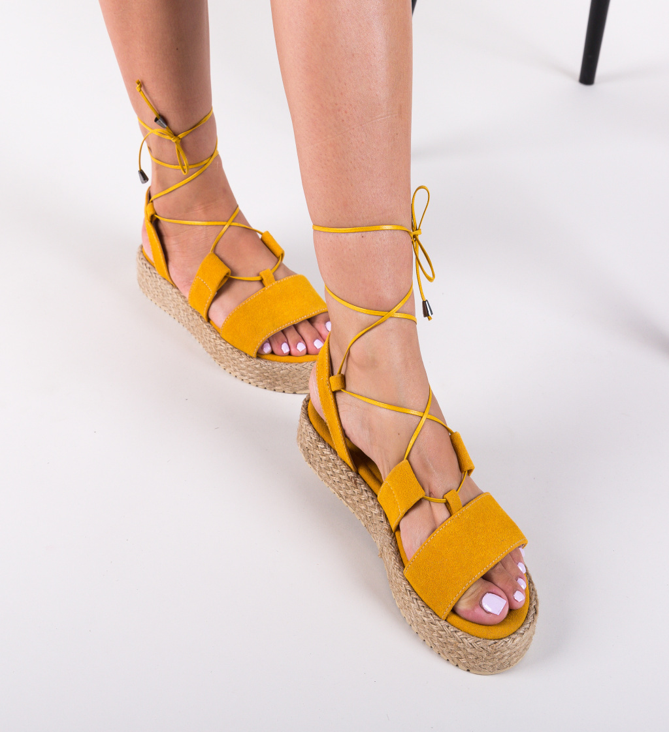 Sandale Clopo Galbene