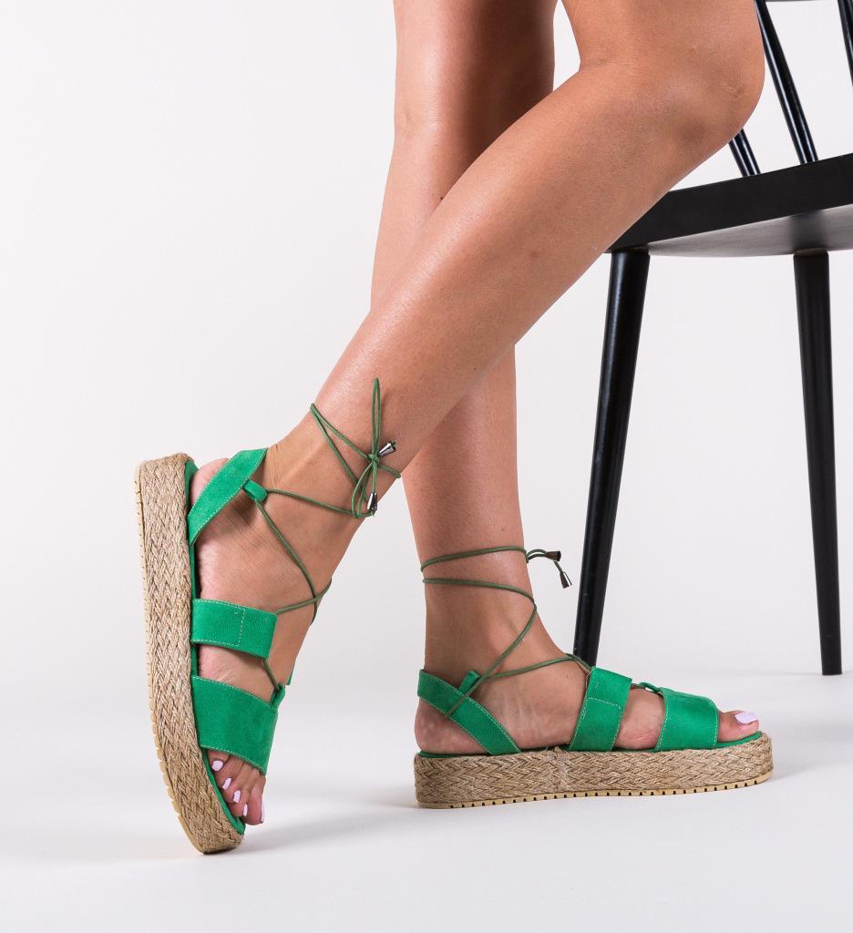 Sandale Clopo Verzi
