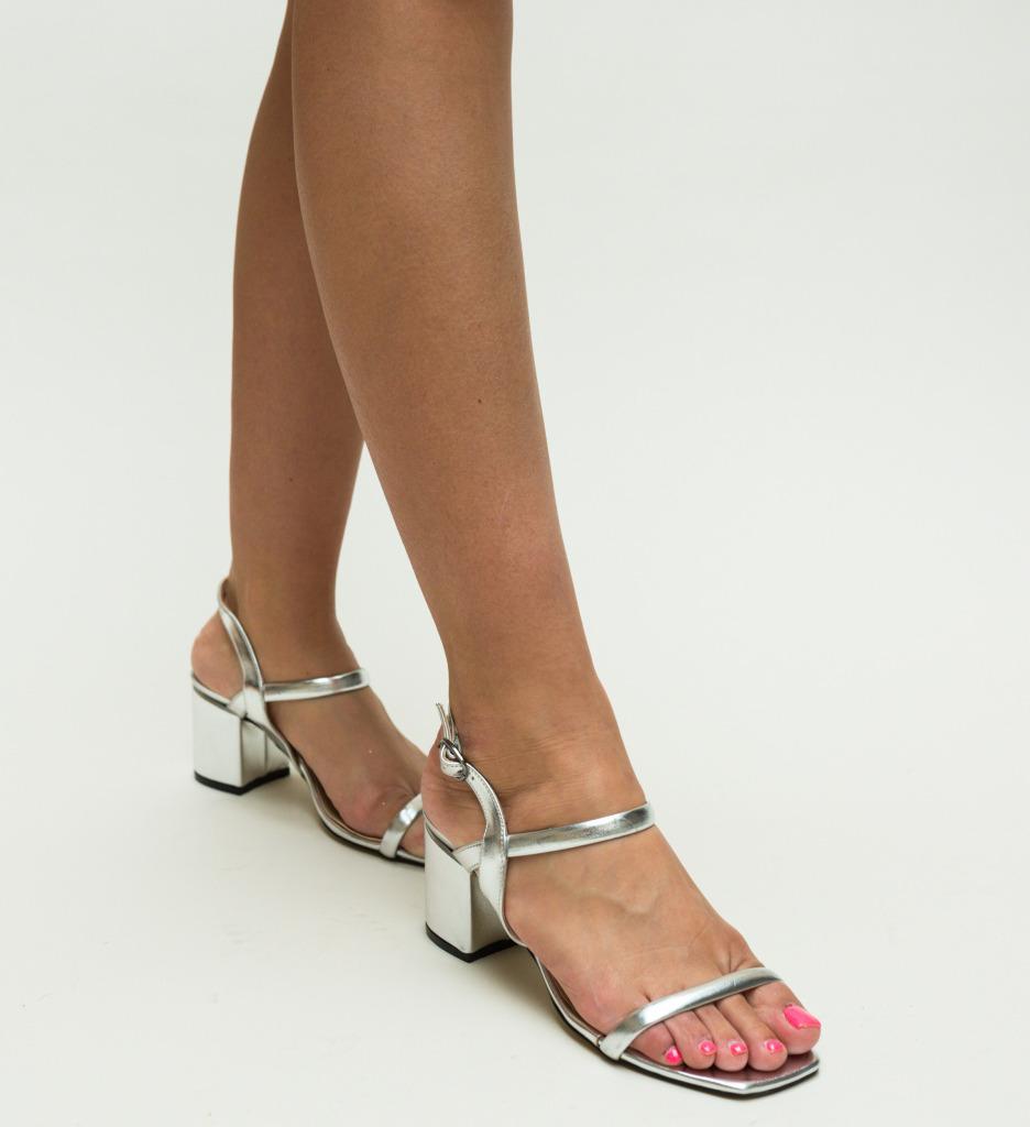 Sandale Cotanca Argintii