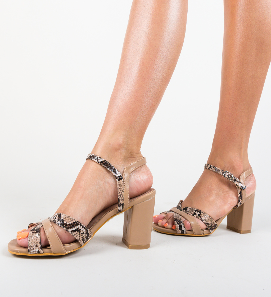 Sandale Kaduna Khaki