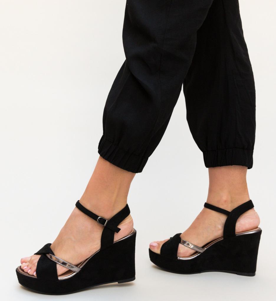 Sandale Megan Negre