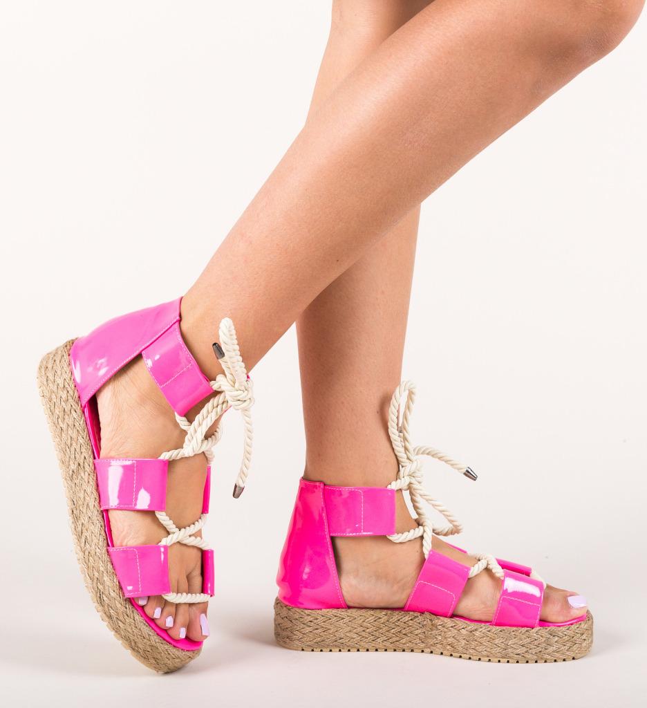 Sandale Pasvon Roz Neon