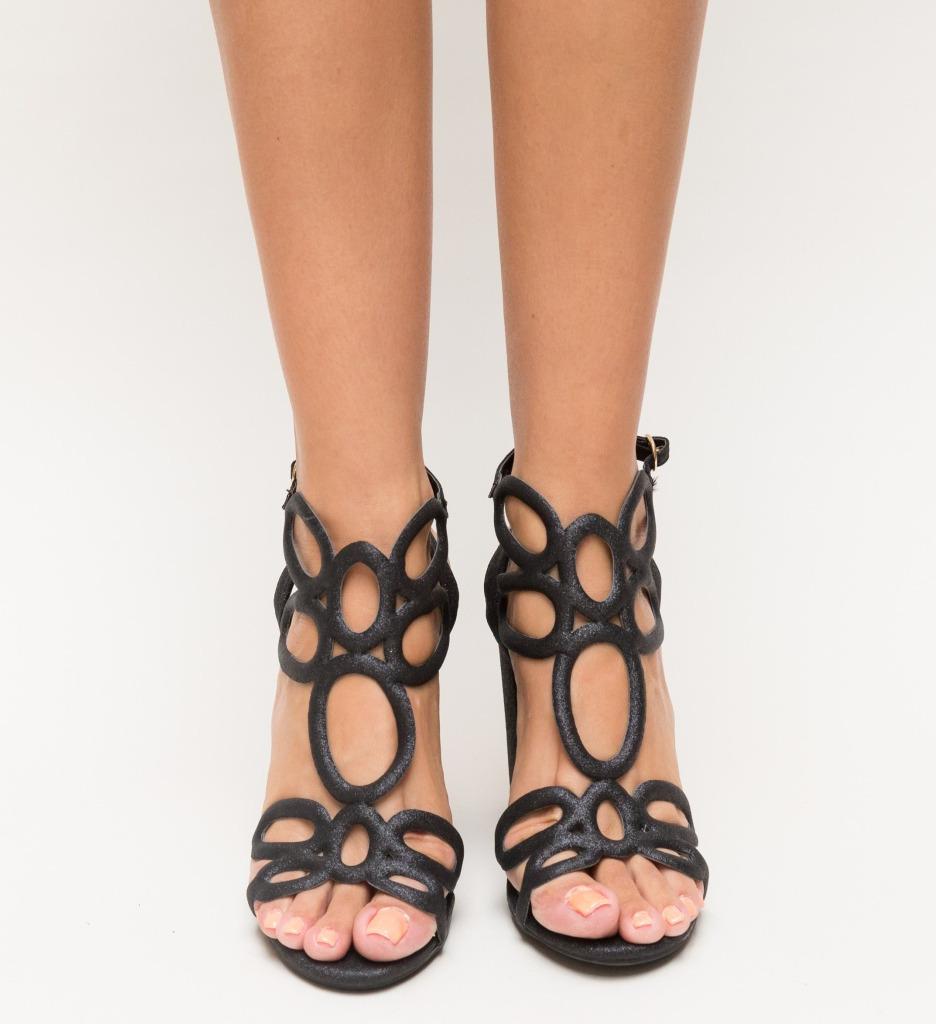 Sandale Rosali Negre