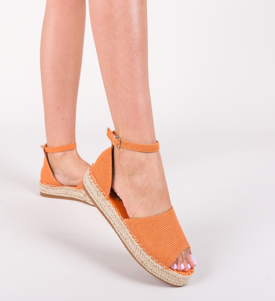 Sandale Tang Portocalii