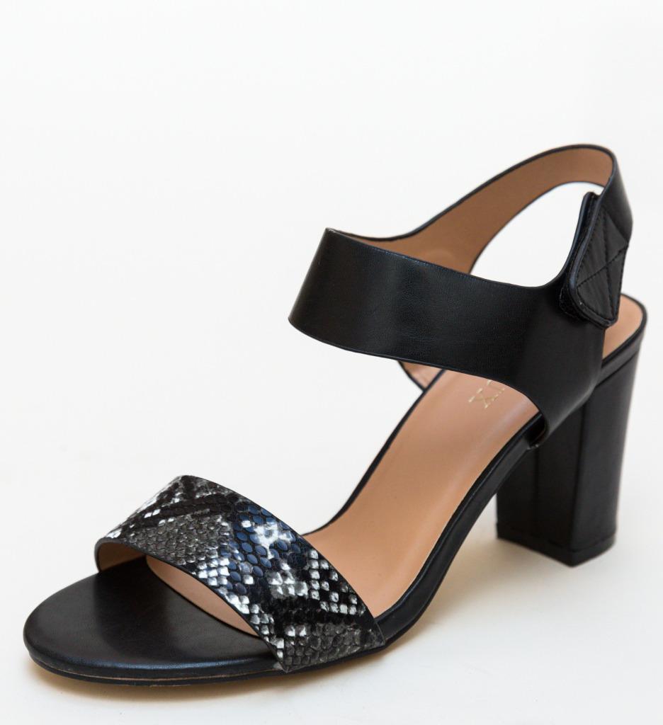 Sandale Uzilica Negre imagine 2021