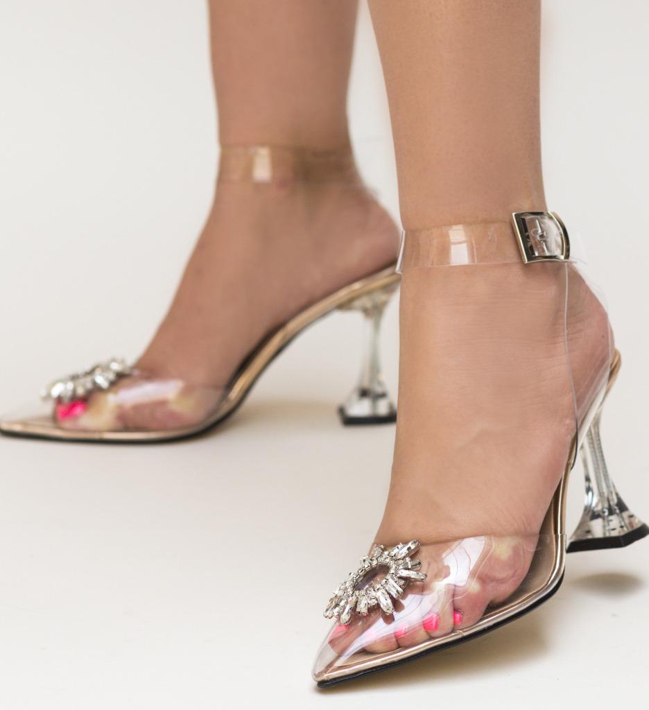 Pantofi Escalibur Aurii 2