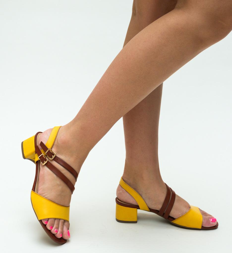 Sandale Terka Galbene