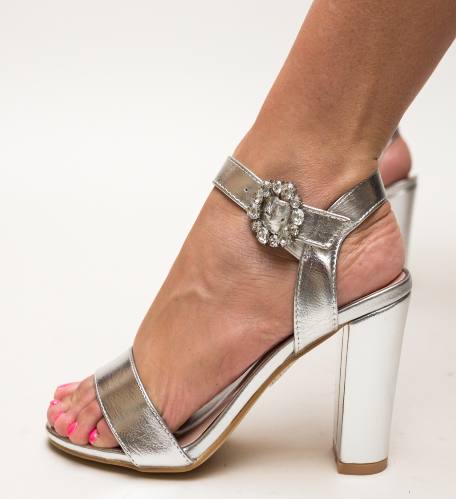 Sandale Roth Argintii