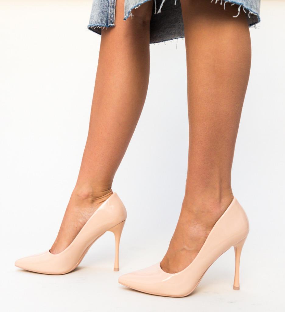 Pantofi Arav Nude