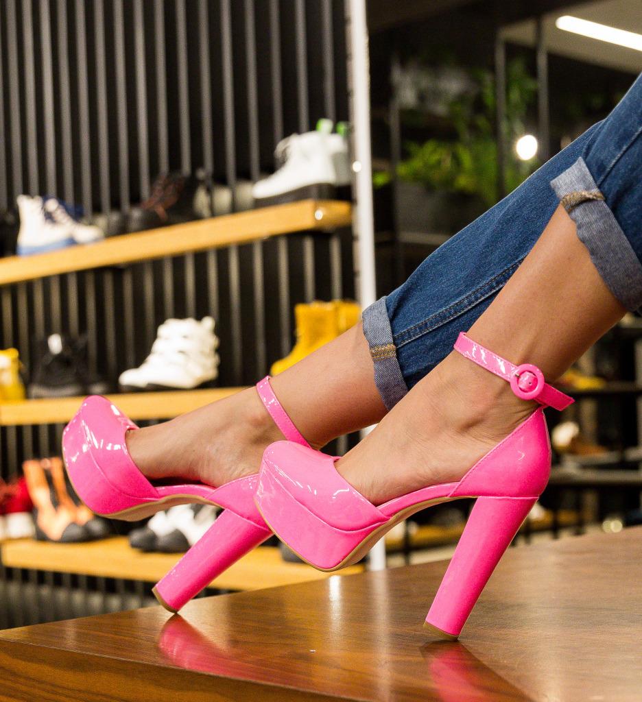 Pantofi Atkins Roz Neon