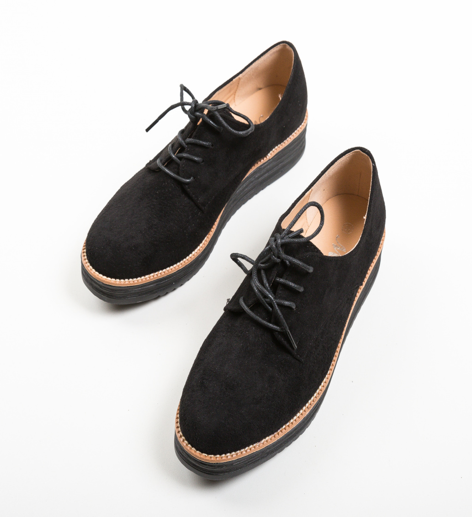 Pantofi Casual Benit Negri