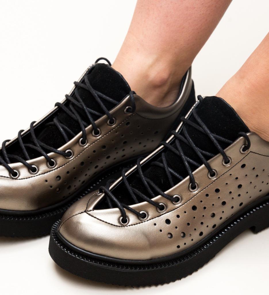 Pantofi Casual Biluca Gri