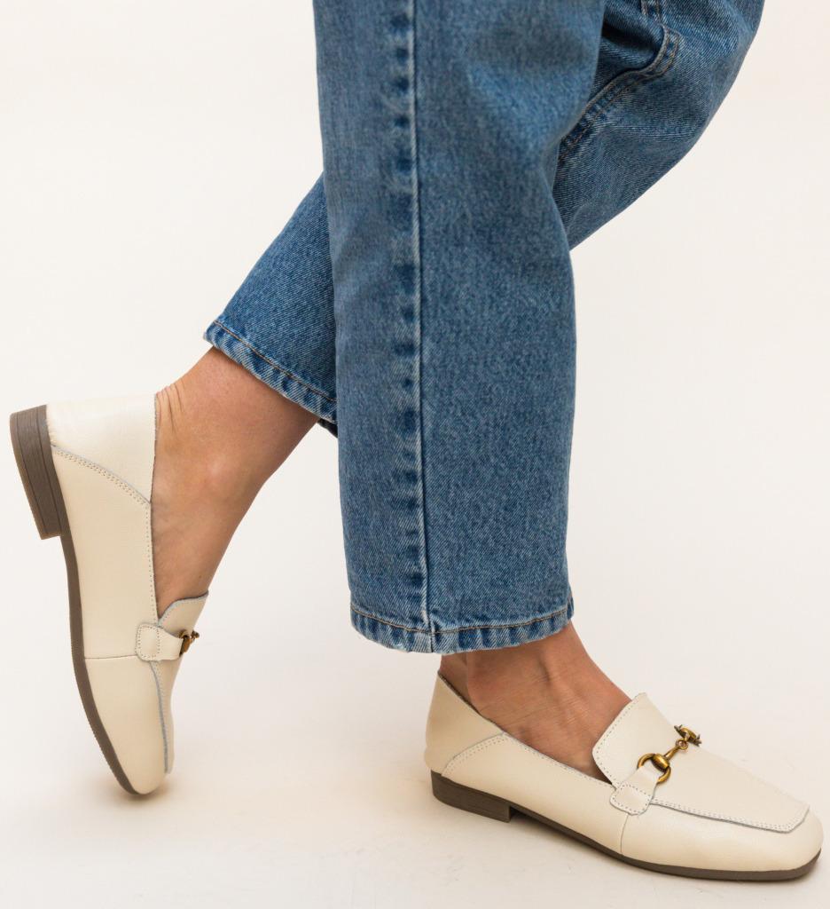Pantofi Casual Caracom Bej