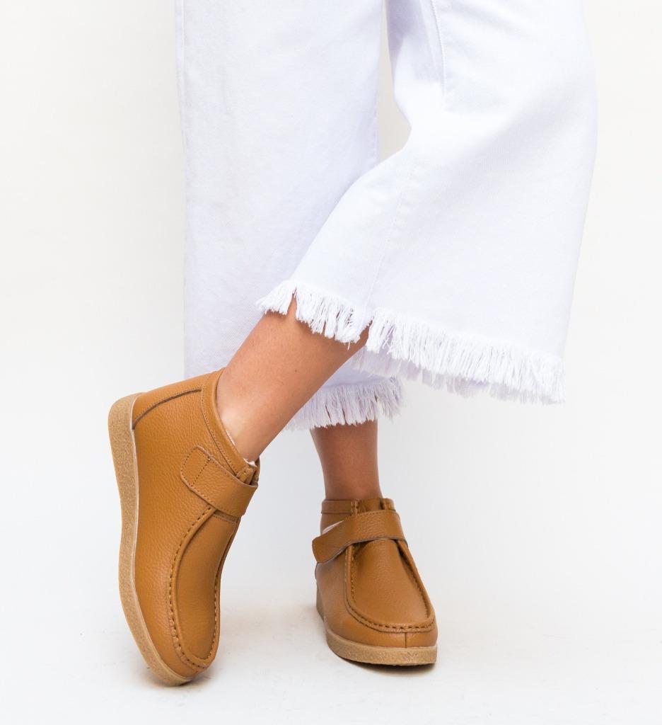 Pantofi Casual Debir Camel