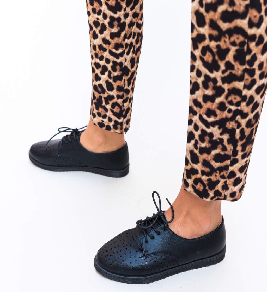 Pantofi Casual Doper Negri