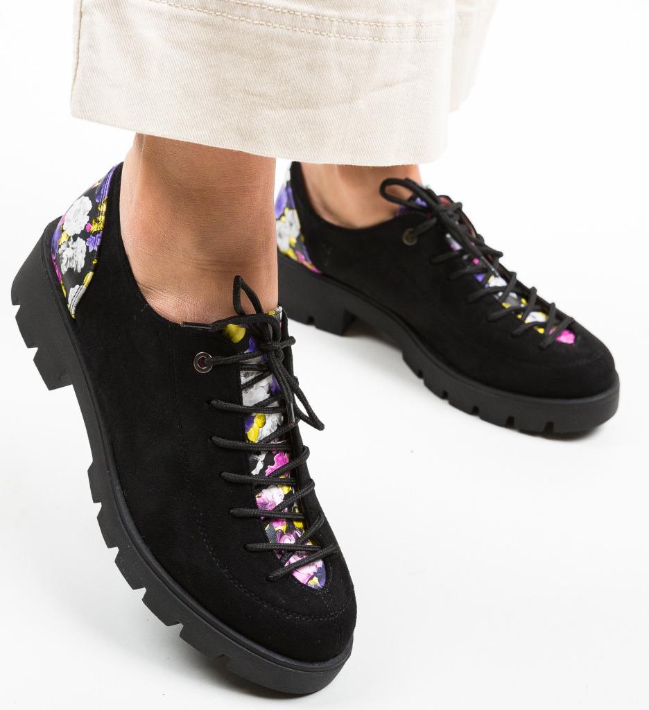 Pantofi Casual Dorey Negri 2