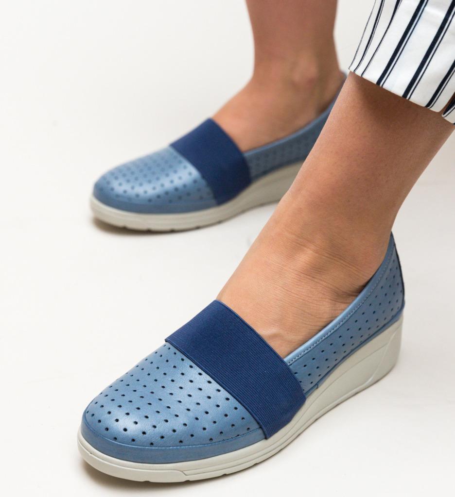 Pantofi Casual Foliande Albastri
