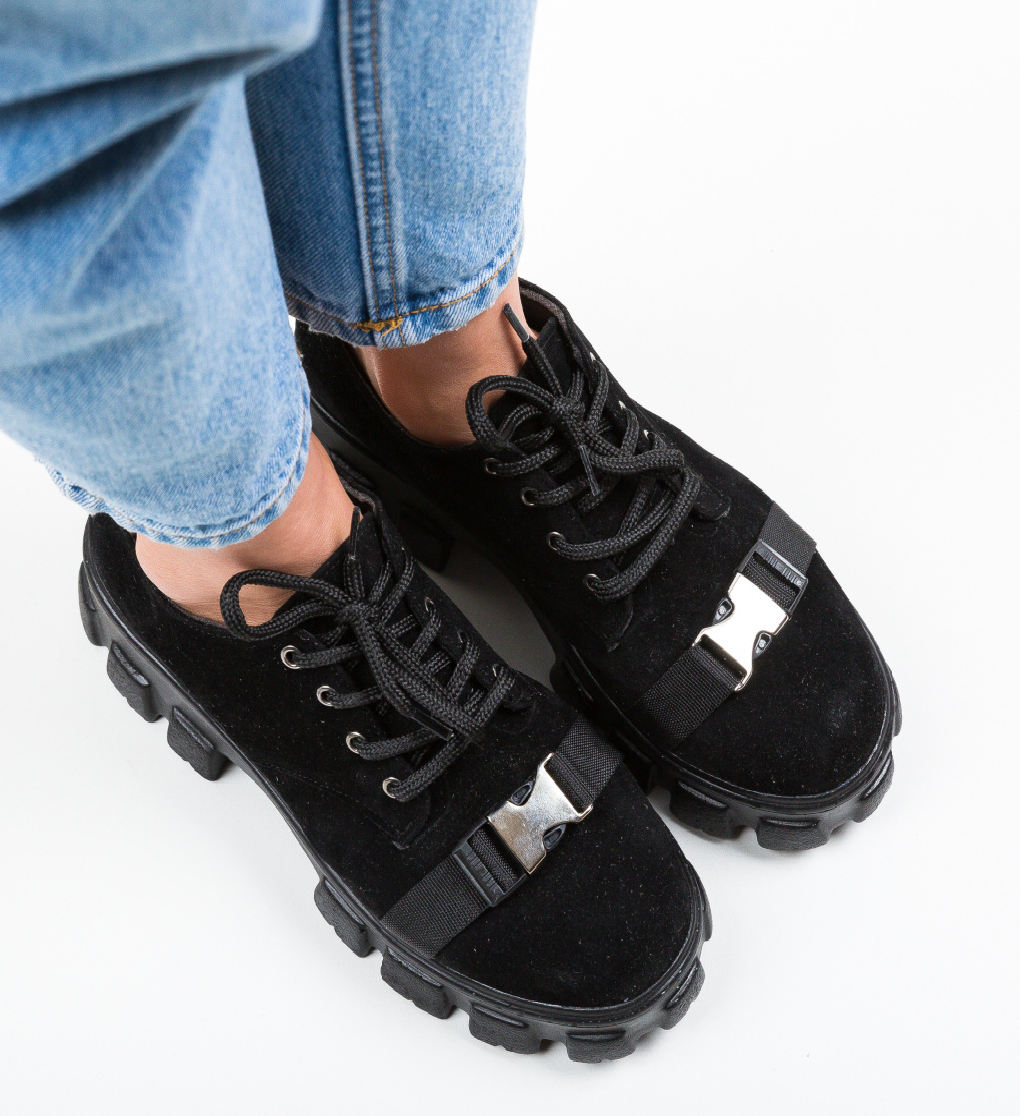 Pantofi Casual Gibraltar Negri