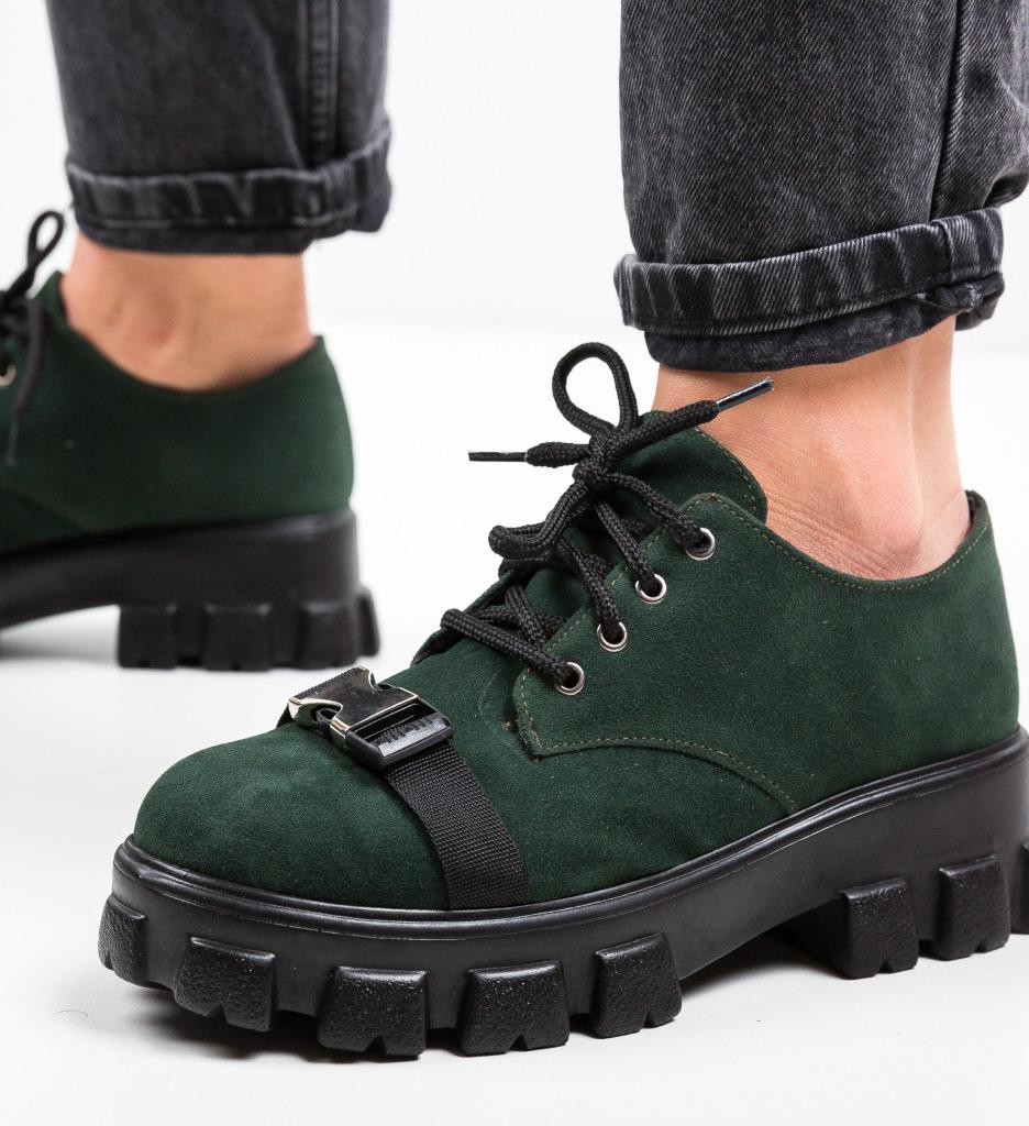 Pantofi Casual Gibraltar Verzi