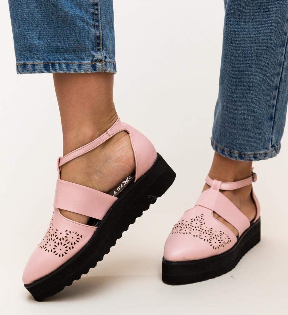 Pantofi Casual Lazer Roz imagine